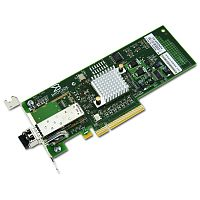 Контроллер Brocade 815 Single Port 8G FC HBA, x8 PCIe, LC multi-mode optic