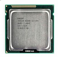 Процессор Intel Xeon E3-1290(4C/8T, 3.6/4.0GHz, 8M,DMI 5GT,95w) socket LGA1155 Mark:8700/1974
